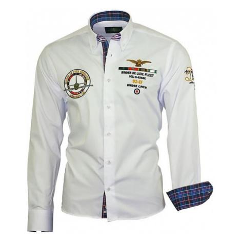 BINDER DE LUXE košile pánská 82102 s dlouhým rukávem
