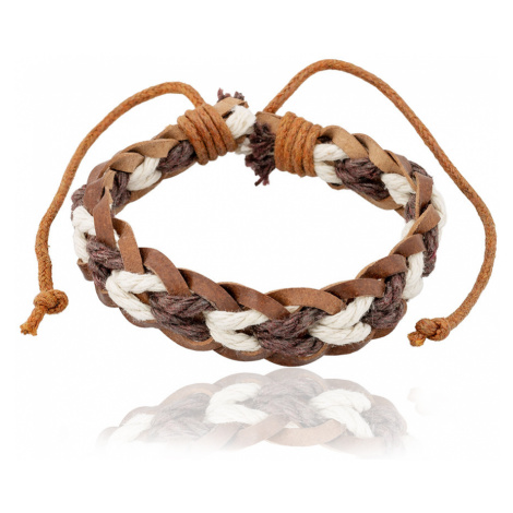 Linda's Jewelry Kožený náramek Element Vzduch INR111