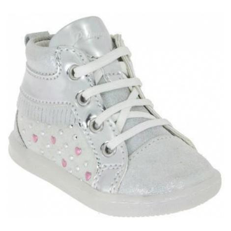 Dívčí kotníková obuv, Primigi, 7027000, stříbrná