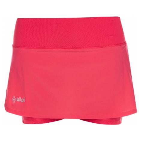 KILPI Dámská šortková sukně TITICACA-W ML0066KIPNK Růžová