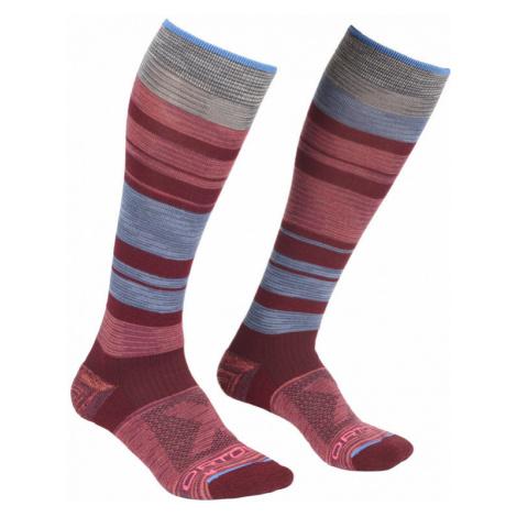 Dámské ponožky Ortovox All Mountain Long Socks multicolour