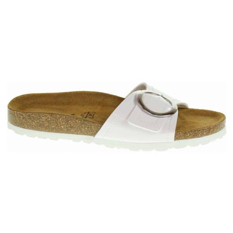 Salamander Dámské pantofle 32-13009-30 white Bílá