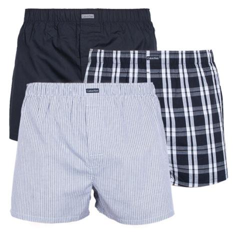 3PACK pánské trenky Calvin Klein classic fit vícebarevné (U1732A-BMS)