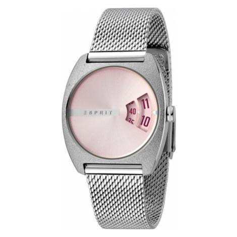 Esprit Disc Pink Silver Mesh ES1L036M0055