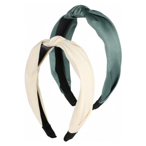 ABOUT YOU Šperky do vlasů 'Havin' smaragdová / pastelově žlutá