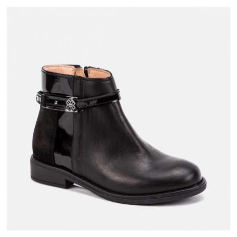 Dívčí kotníková obuv Myoral 44019 | černá Mayoral
