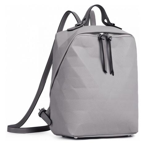 Šedý dámský městský batoh Panzy Lulu Bags