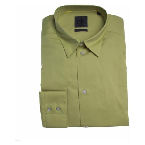 Calvin Klein Calvin Klein pánská světle zelená košile