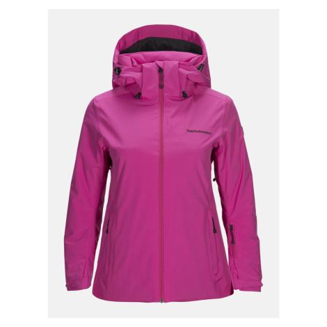 Bunda Peak Performance W Anima J Active Ski Jacket - Růžová