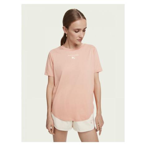 Scotch & Soda Scotch & Soda dámské růžové tričko