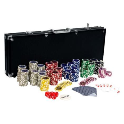 Tuin 2644 Pokerový set, 500 žetonů Ultimate black