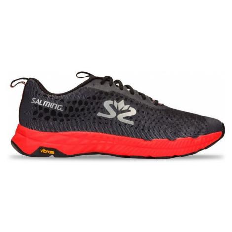 Pánské běžecké boty Salming Greyhound černo - červené,