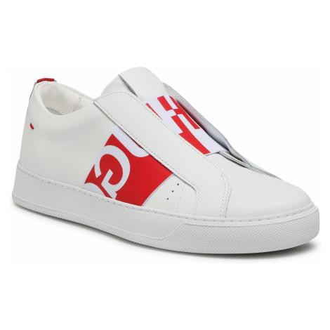 Sneakersy HUGO - Futurism ElasticS 50447259 10201909 01 Open White 121