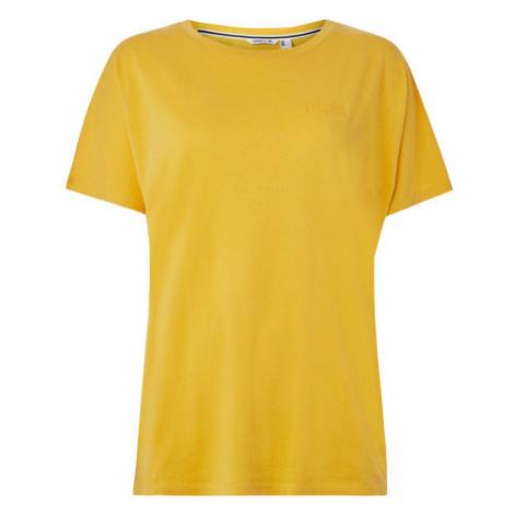 O'Neill LW ESSENTIALS DRAPEY T-SHIRT žlutá - Dámské tričko