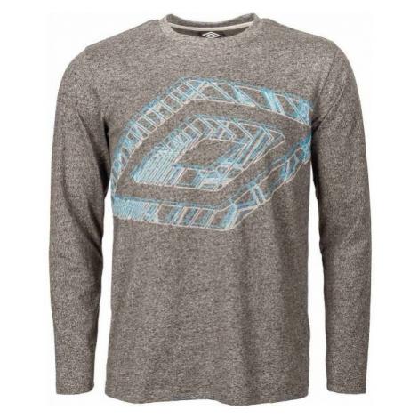 Umbro ALDO tmavě šedá - Pánské triko
