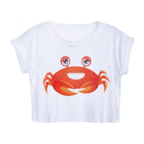 Dámské tričko Organic Crop Top Krab