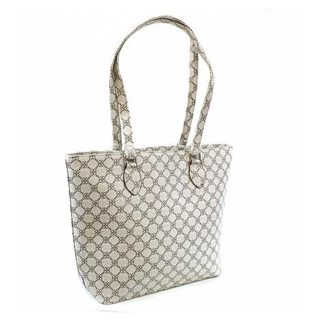 Bílá dámská luxusní kabelka přes rameno Qiana Tapple