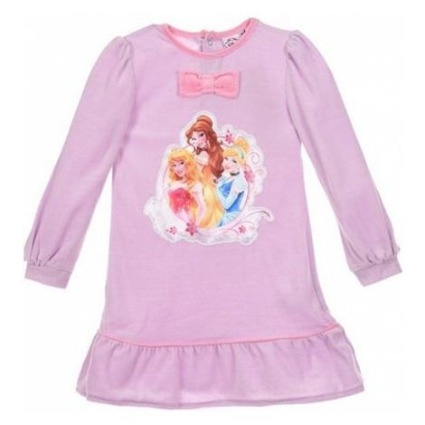 Disney princezny růžovo-fialová dívčí noční košile