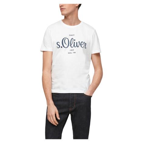 s.Oliver pánské triko s krátkým rukávem 03.899.32.6954/0100