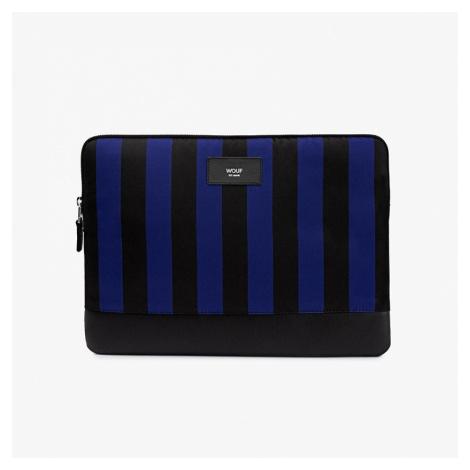 Modro-černý obal na notebook Azzurro WOUF