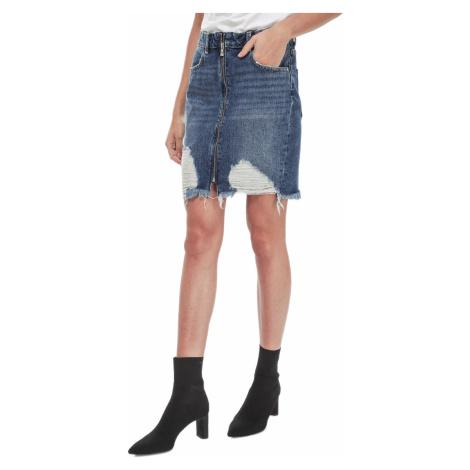 Modrá džínová sukně - GUESS