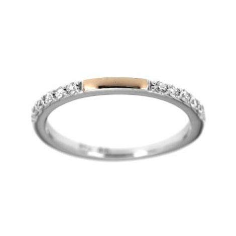 Stříbrný prsten s kamínky 6549