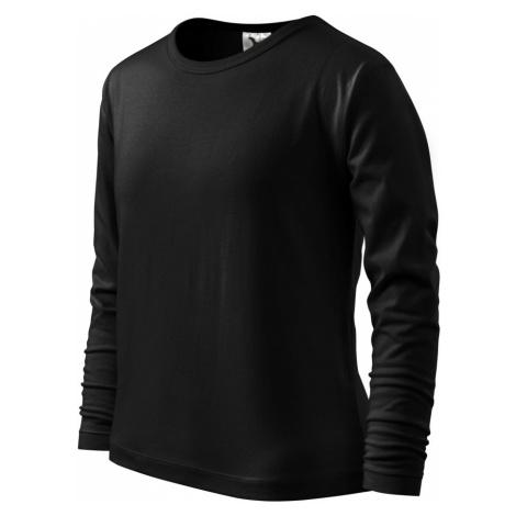 Malfini Long Sleeve 160 Dětské triko 12101 černá