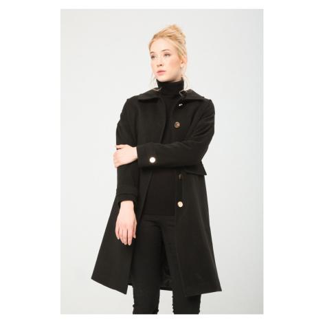 Fontana dámský černý kabát Fontana 2.0