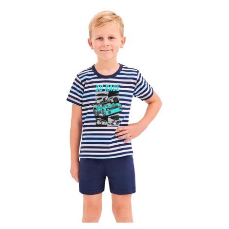 Chlapecké pyžamo Max modré proužky Taro