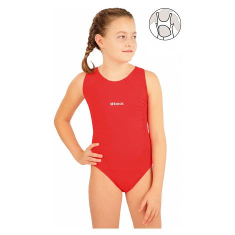 LITEX Dívčí jednodílné sportovní plavky 63640
