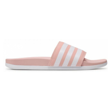 Dámské pantofle adidas Adilette Růžová / Bílá