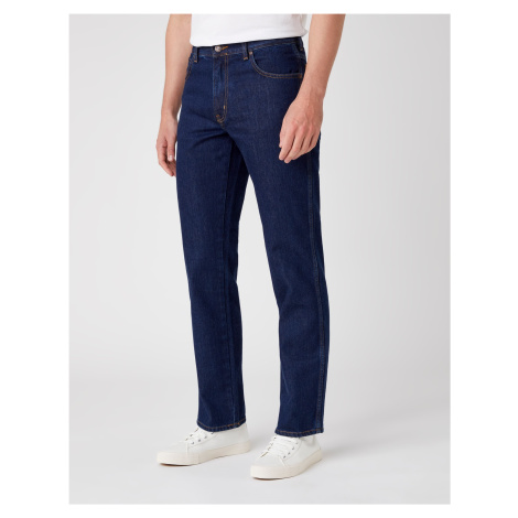 Wrangler jeans Texas Darkstone pánské tmavě modré