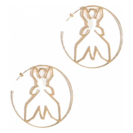Náušnice Orecchi, ve zlaté barvě PATRIZIA PEPE