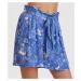 Šortky Odd Molly Pretty Printed Shorts - Modrá