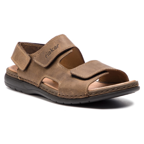 Sandály RIEKER - 25558-25 Braun