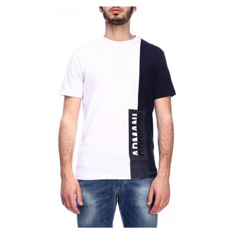 Pánské tričko s bočním nápisem Armani Exchange