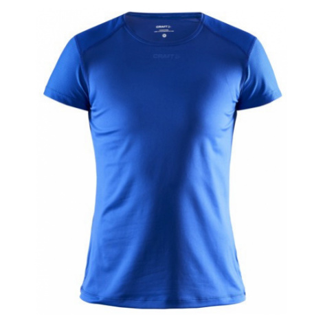 Dámské tričko CRAFT ADV Essence Slim SS modrá