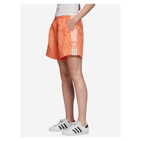Šortky adidas Originals Oranžová