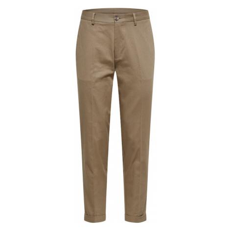 BURTON MENSWEAR LONDON Kalhoty s puky khaki