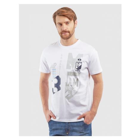Tričko La Martina Man Tshirt S/S Cotton Jersey - Bílá