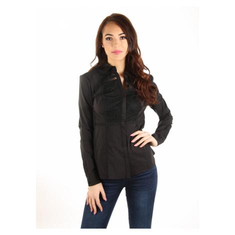 Guess dámská černá košile s krajkou