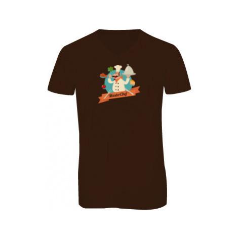 Pánské triko s výstřihem do V Master Chef