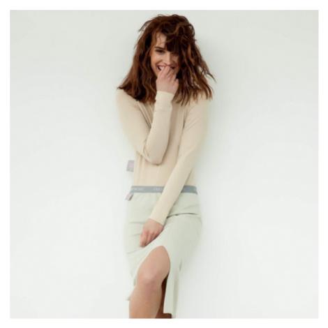 #mblm Collection krátká sukně – béžová LUKAS MACHACEK