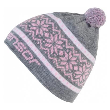 NORWAY Zimní čepice 17200098 šedá UNI Sensor