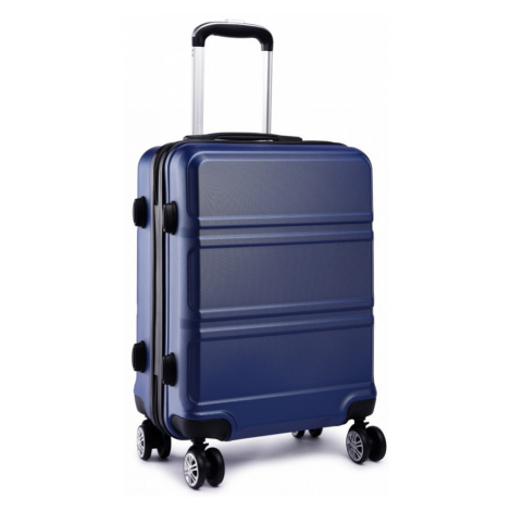 Modrý střední cestovní kvalitní kufr Kylah Lulu Bags