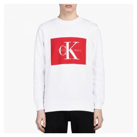 Calvin Klein pánská bílá mikina Hotoro