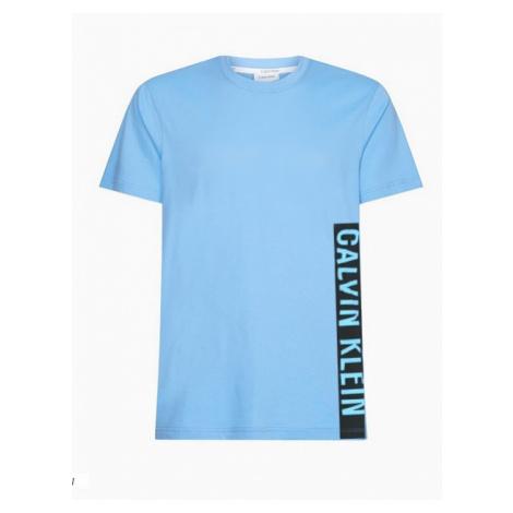 Pánské tričko Calvin Klein KM00481 modrá | modrá