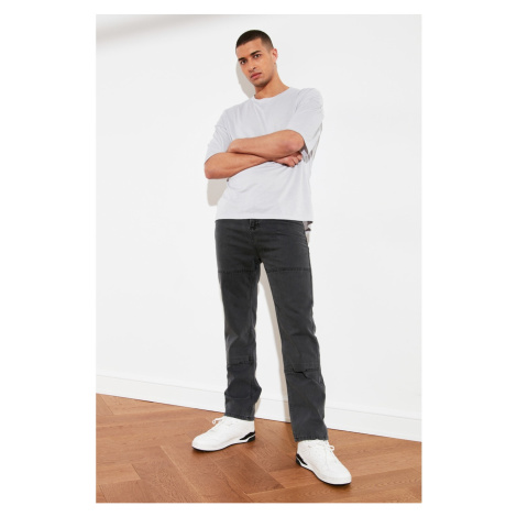 Trendyol Anthracite Men's Straight Fit Jeans