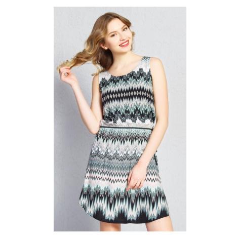 Dámské šaty Lenka, XL, khaki Vienetta Secret