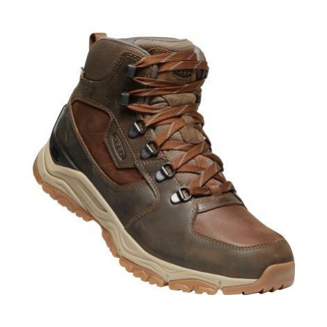 Pánské boty Keen Innate Leather Mid WP M musk UK